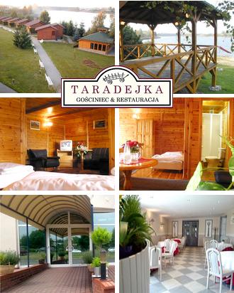 Wochenende in Polen Gasthaus Taradejka Karte